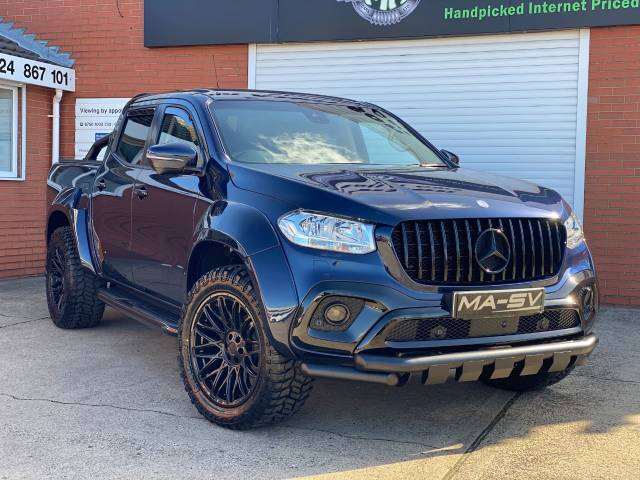 2018 Mercedes-benz X Class 2.3 250d MA-SV WIDEBODY 4Matic Double Cab Pickup Auto