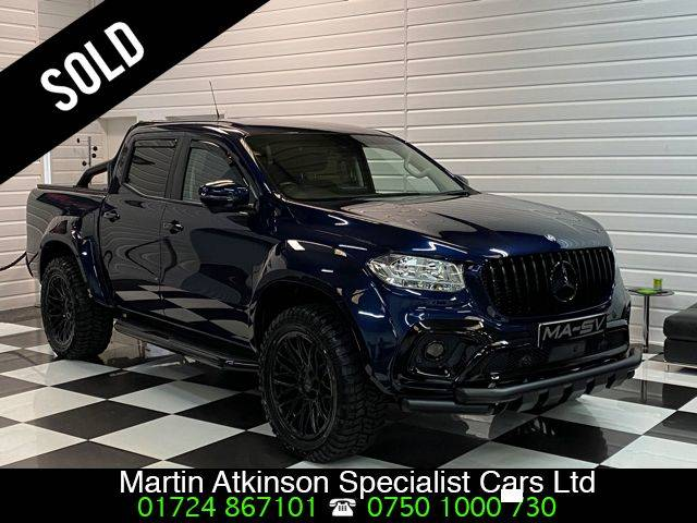 Mercedes-benz X Class 2.3 250d MA-SV WIDEBODY 4Matic Double Cab Pickup Auto Pick Up Diesel Cavansite Blue