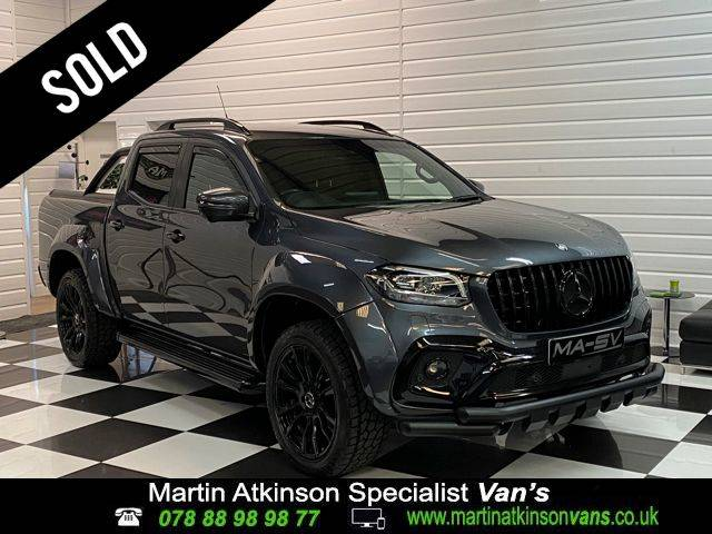 Mercedes-benz X Class 2.3 250d 4Matic Power Double Cab Pickup Auto Pick Up Diesel Grey
