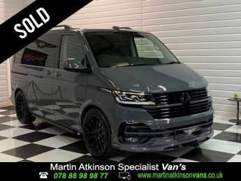 Volkswagen Caravelle 2.0 BiTDi 199ps DSG SWB 4Motion Minibus Diesel Pure Grey at Martin Atkinson Vans Scunthorpe