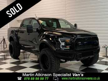 Ford Ranger DU150 F-SERIES STYLED Wildtrak 2.0 EcoBlue 213PS 10 Speed Auto Pick Up Diesel Shadow Black at Martin Atkinson Vans Scunthorpe