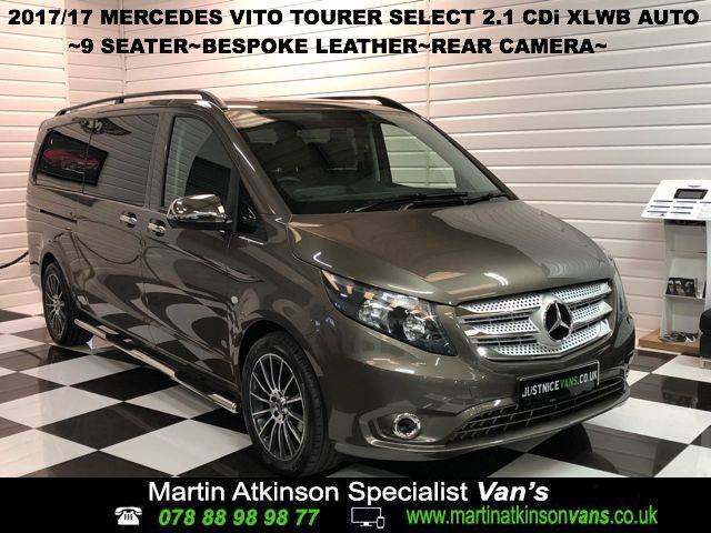 2017 Mercedes-benz Vito 2.1 Vito 114CDi Tourer Select Auto