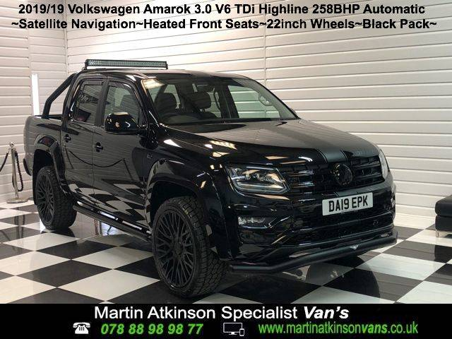 2019 Volkswagen Amarok GTS Styling Pack Pick Up Highline 3.0 V6 TDI 258PS BMT 4M Auto